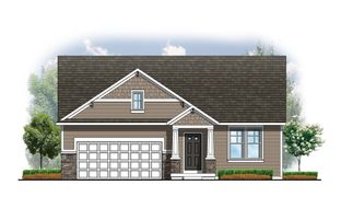 The Willow ll Americana - Hathaway Lakes: Nunica, Michigan - Eastbrook Homes Inc.