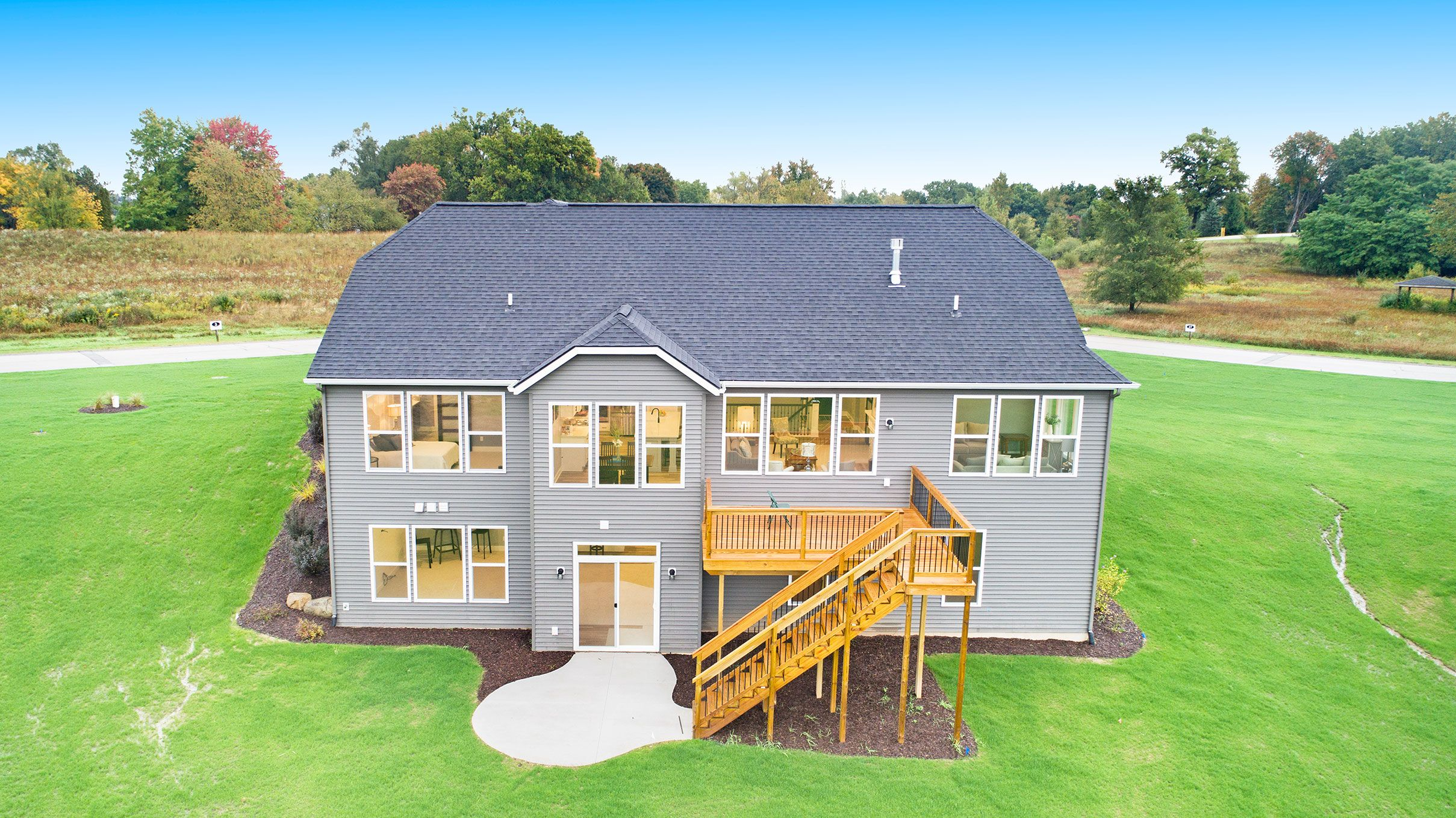 'Hidden Canyon' by Eastbrook Homes Inc. in Grand Rapids