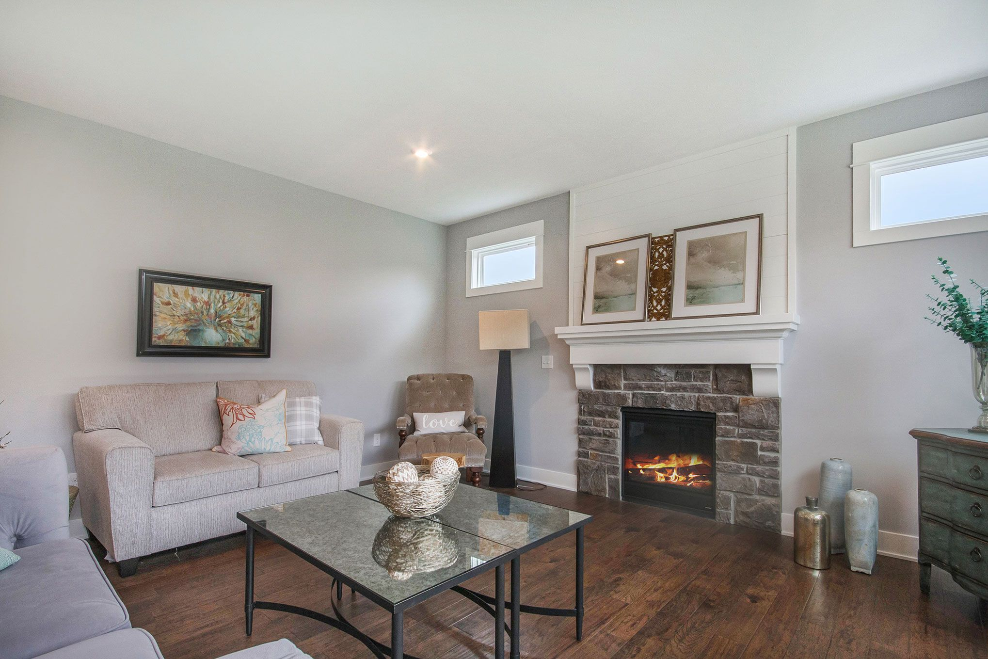 Living Area featured in The Newport By Eastbrook Homes Inc. in Grand Rapids, MI