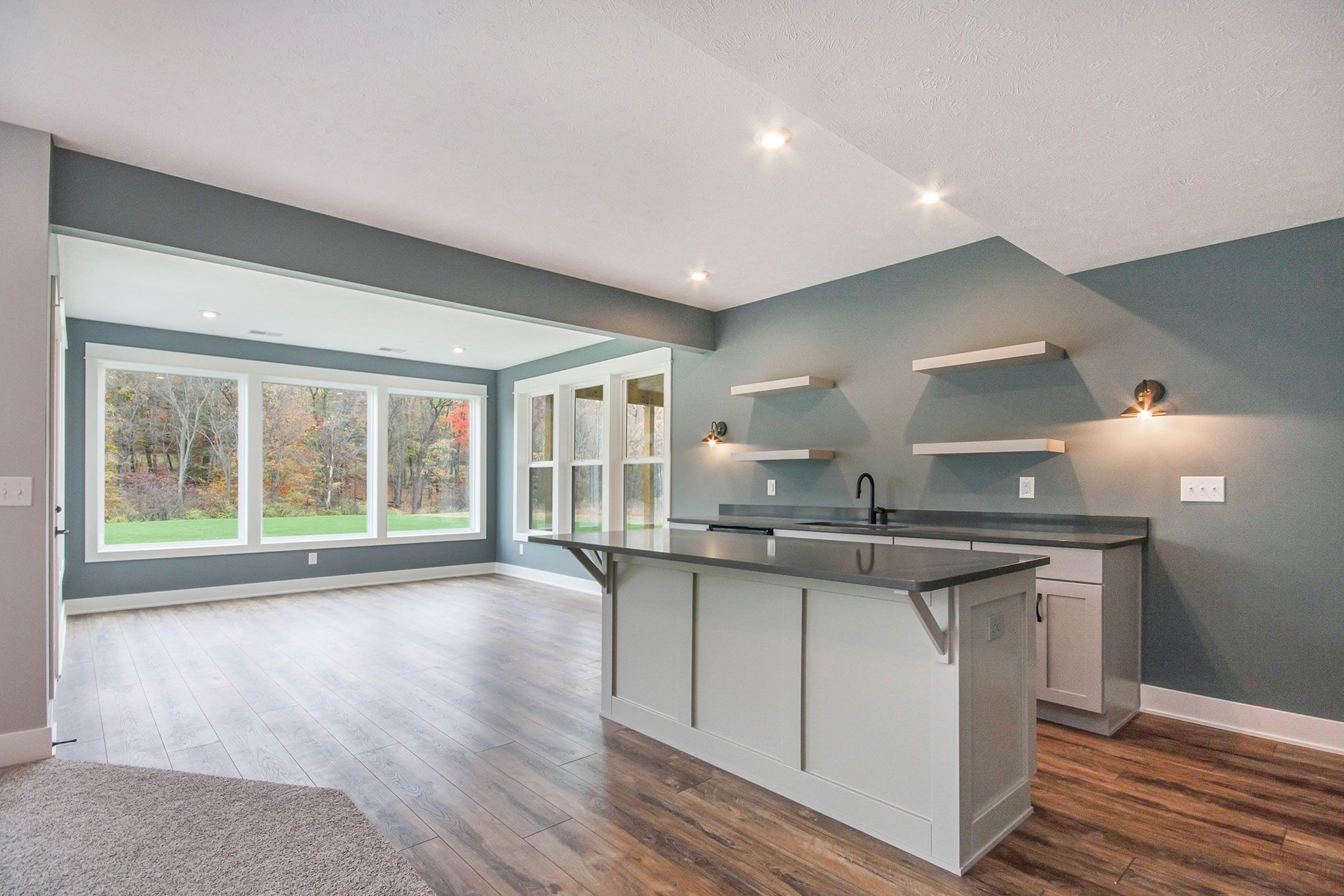 Kitchen featured in The Newport By Eastbrook Homes Inc. in Grand Rapids, MI