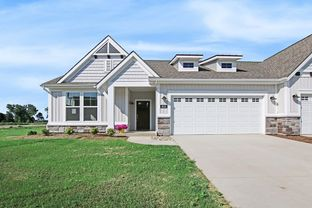 The Pentwater II - Lowing Woods: Jenison, Michigan - Eastbrook Homes Inc.