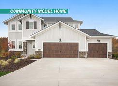 The Newport - Harvest Meadows: Lowell, Michigan - Eastbrook Homes Inc.