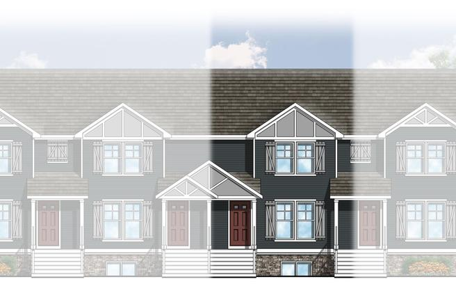 3821 Zaharas Lane (The College Fields Townhomes)