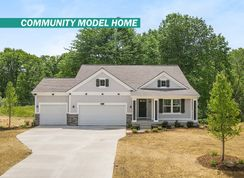 The Willow ll Americana - Saddlebrook: Cedar Springs, Michigan - Eastbrook Homes Inc.