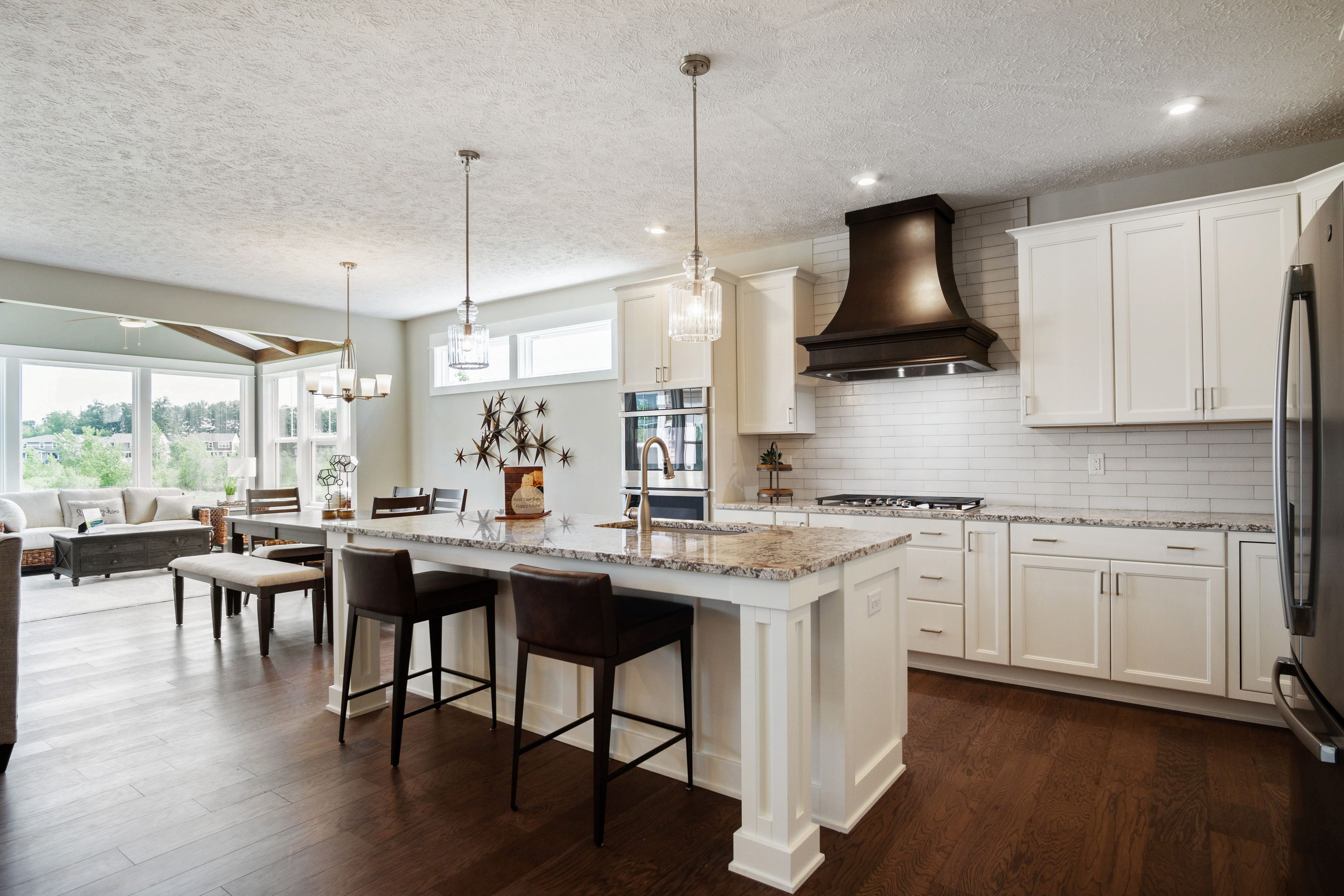 Kitchen featured in The Willow ll By Eastbrook Homes Inc. in Lansing, MI
