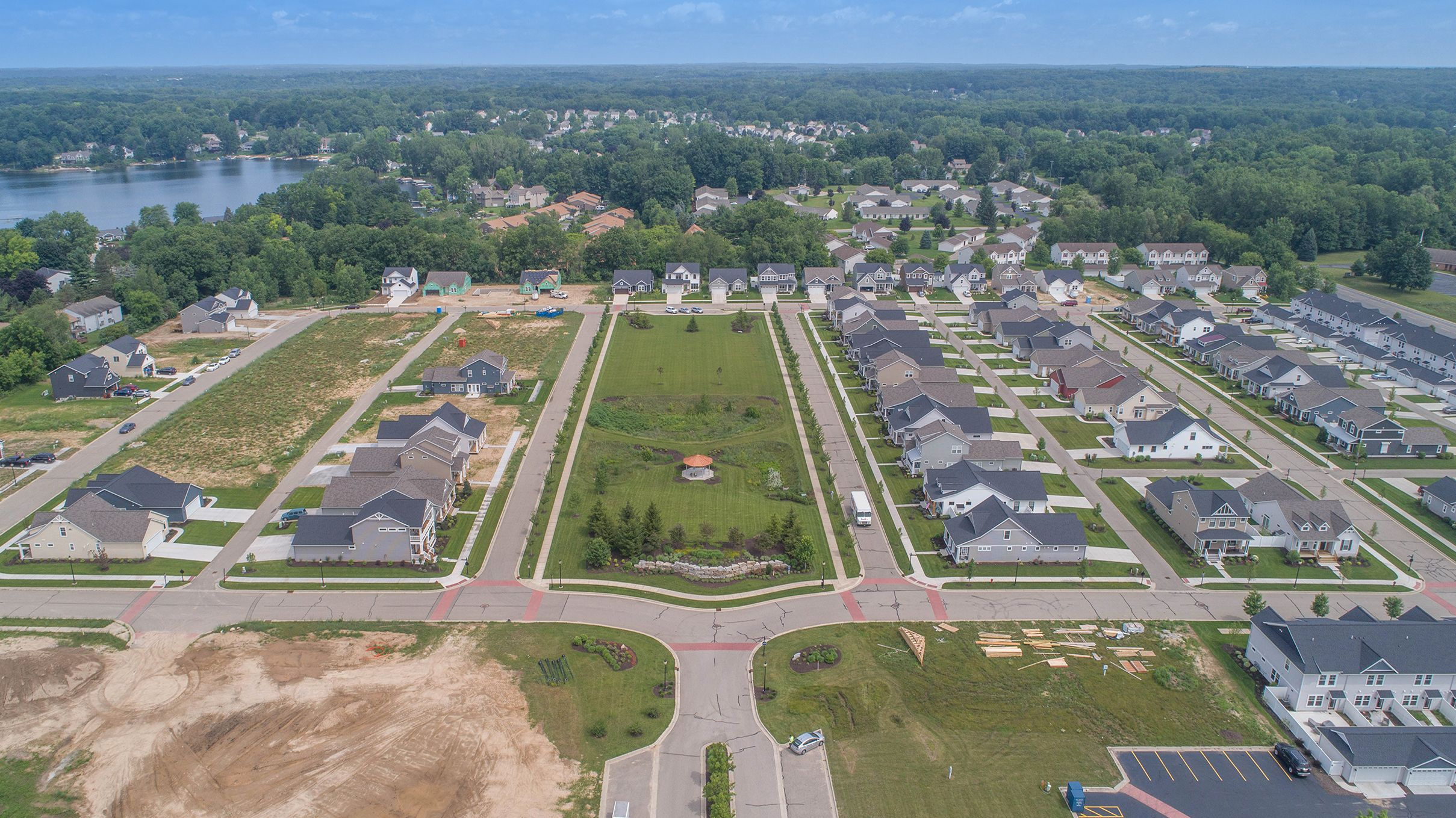 'Town Square' by Eastbrook Homes Inc. in Grand Rapids