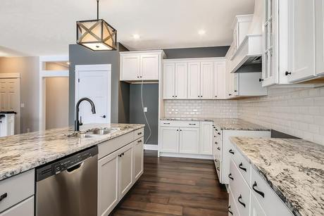 Kitchen-in-The Willow ll Americana-at-Cook's Crossing-in-Byron Center