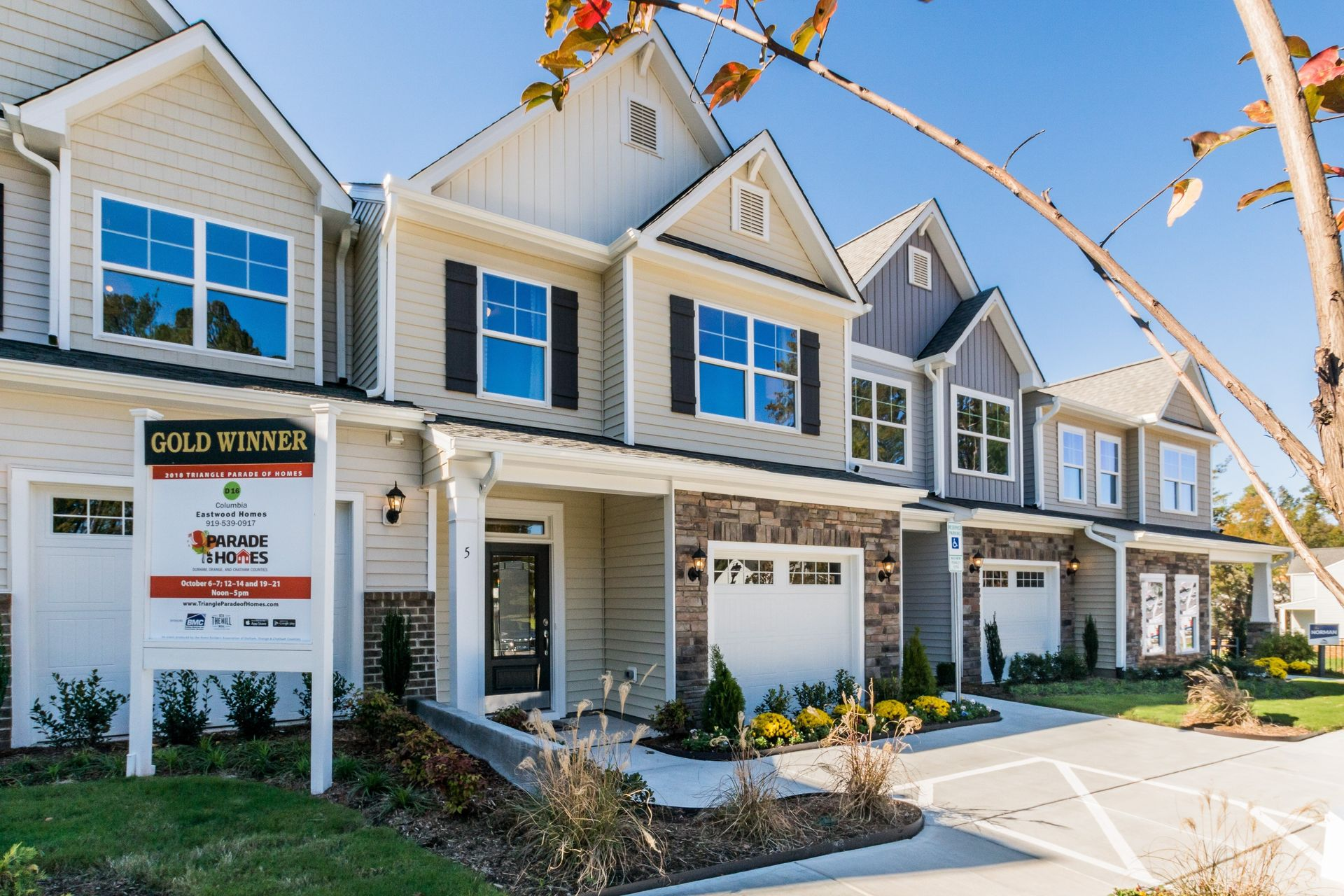 Longview in Durham, NC :: New Homes by Eastwood Homes
