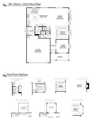 Drexel Plan At Windsor Knoll In Dacula Ga By Eastwood Homes