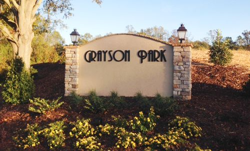 Grayson Park by Eastwood Homes in Greenville-Spartanburg South Carolina