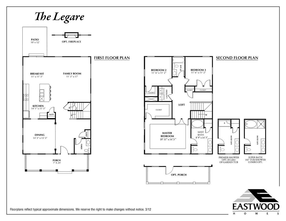 Eastwood homes caldwell floor plan - Oakwood homes design center colorado springs ...