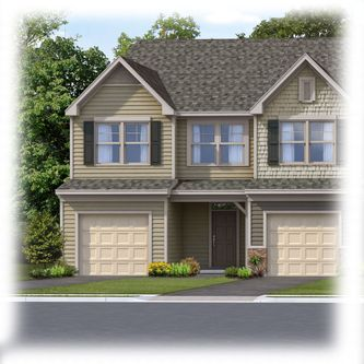 The Village at Adams Mill Townhomes by Eastwood Homes in Greenville-Spartanburg South Carolina