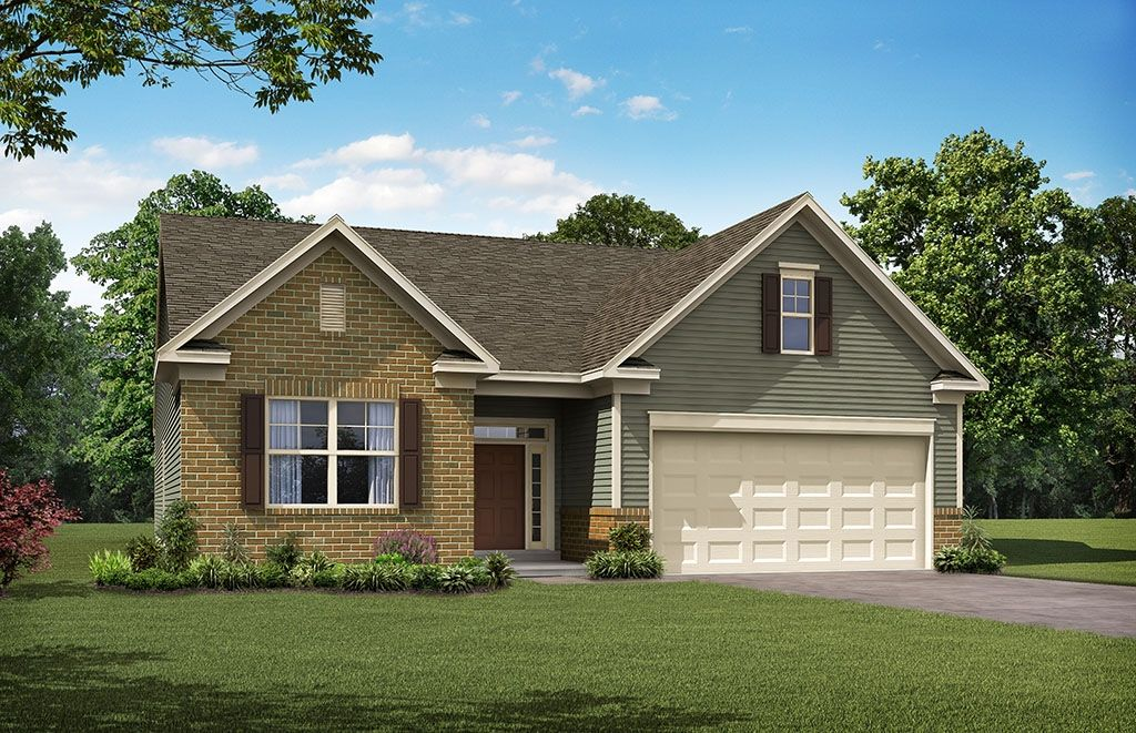 Exterior featured in the Avery By Eastwood Homes in Atlanta, GA