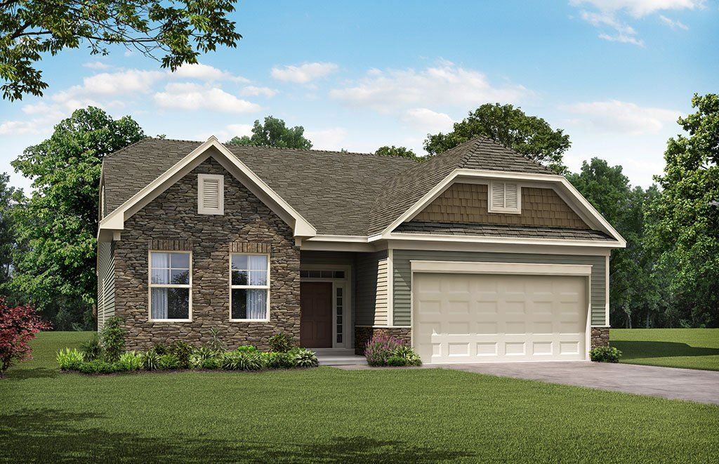 Exterior featured in the Avery By Eastwood Homes in Columbia, SC