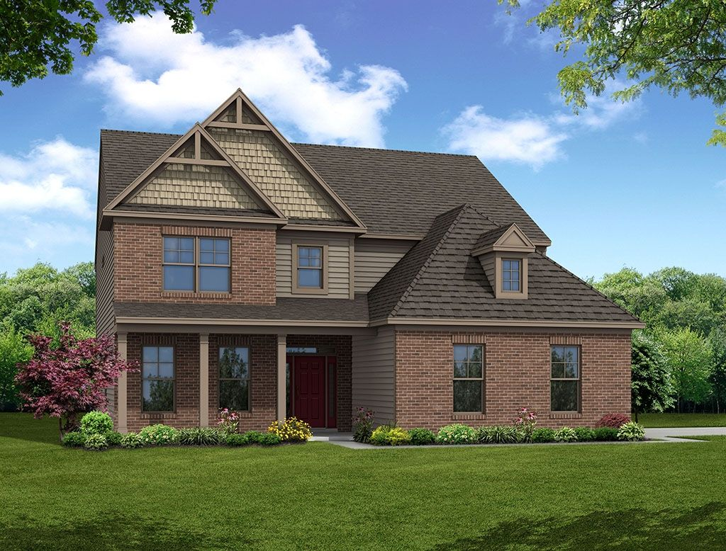 Exterior featured in the Hamilton By Eastwood Homes in Charlotte, NC