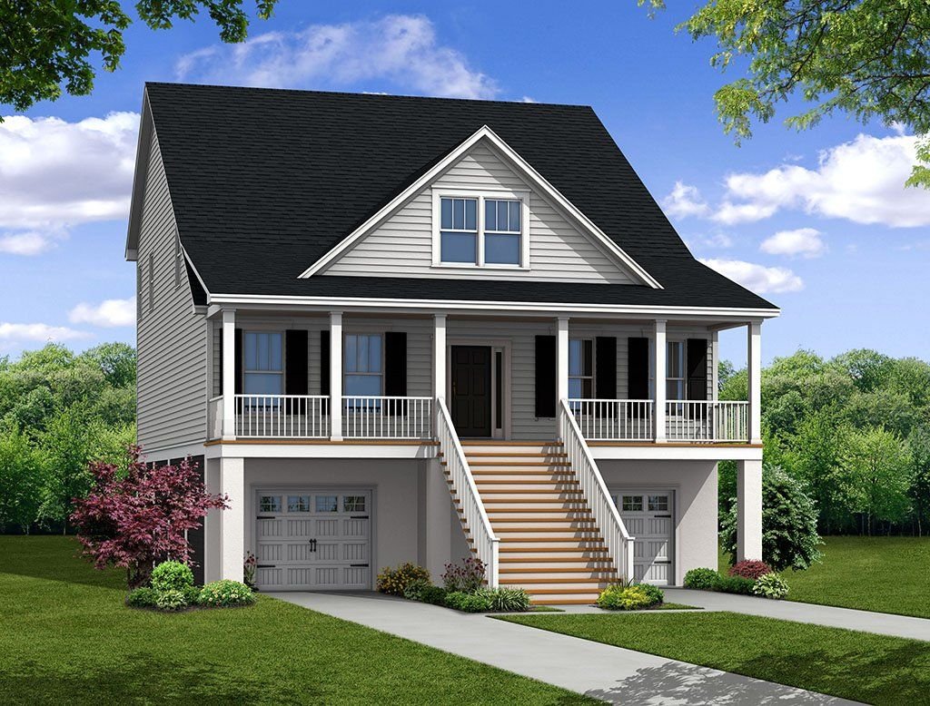 Exterior featured in the Vanderhorst By Eastwood Homes in Charleston, SC