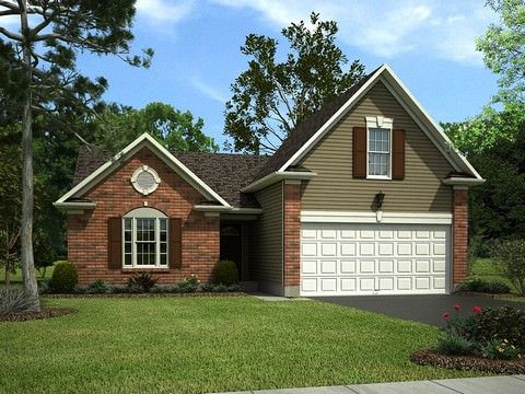 Exterior featured in the Camden By Eastwood Homes in Greenville-Spartanburg, SC
