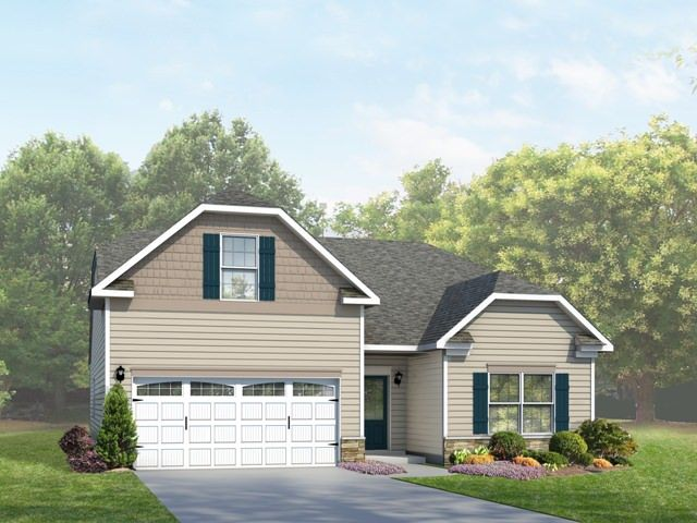 Exterior featured in the Catawba By Eastwood Homes in Greenville-Spartanburg, SC