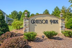homes in Grayson Park by Eastwood Homes