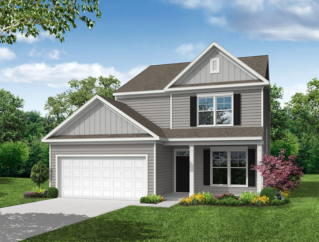 Exterior featured in the Richfield With Two-Car Garage By Eastwood Homes