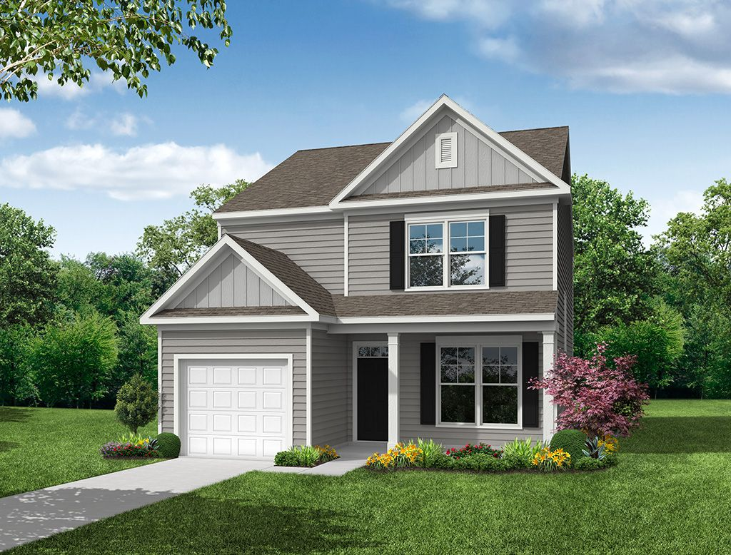 Exterior featured in the Richfield By Eastwood Homes in Greenville-Spartanburg, SC