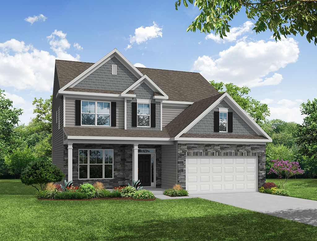 Exterior featured in the Cypress By Eastwood Homes in Columbia, SC