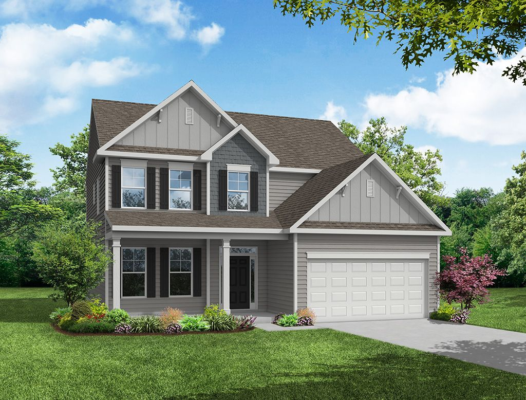 Exterior featured in the Cypress By Eastwood Homes in Atlanta, GA
