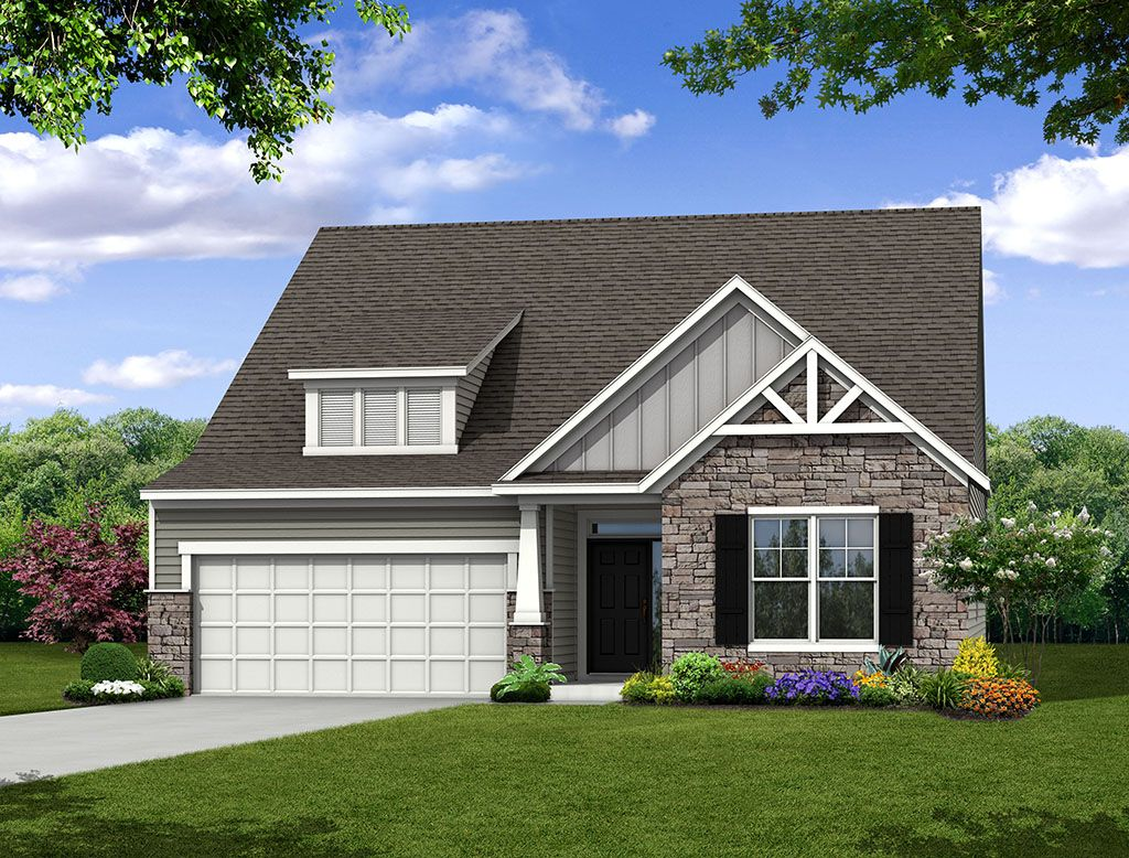 Exterior featured in the Wescott By Eastwood Homes in Greenville-Spartanburg, SC