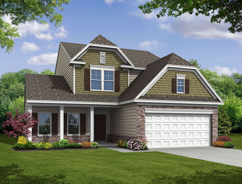 Exterior featured in the Raleigh II By Eastwood Homes in Charleston, SC