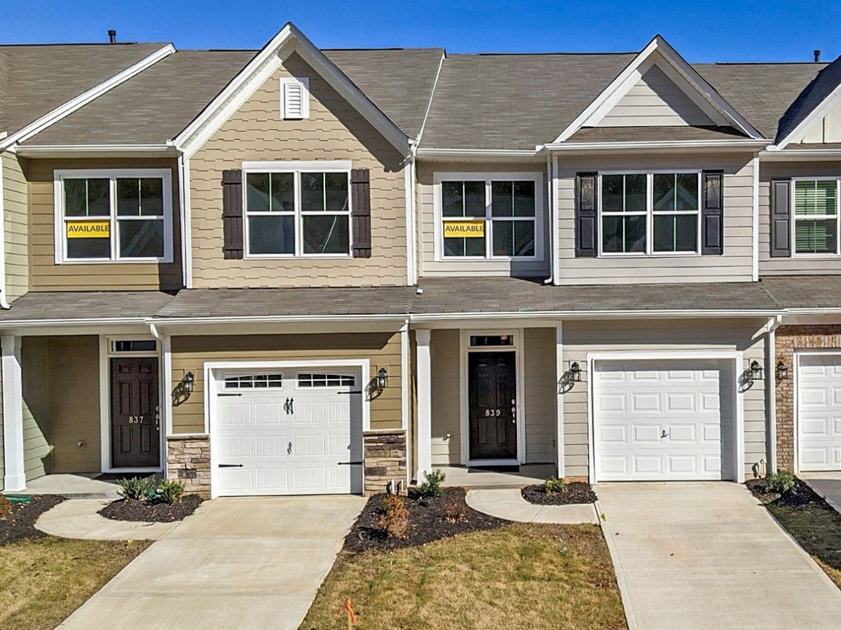 Exterior featured in the Bristol By Eastwood Homes in Greenville-Spartanburg, SC