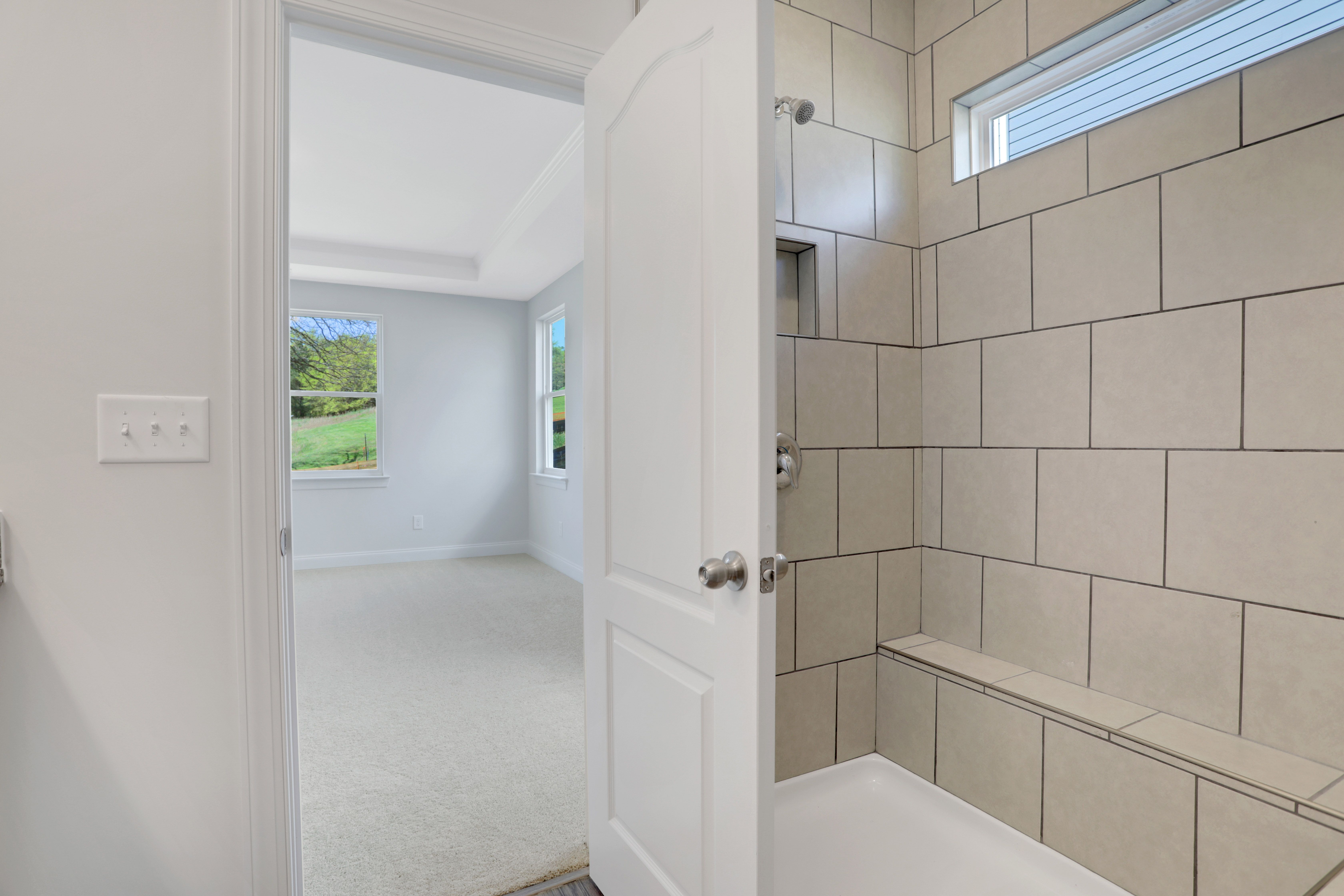 Bathroom featured in the Raleigh By Eastwood Homes in Atlanta, GA