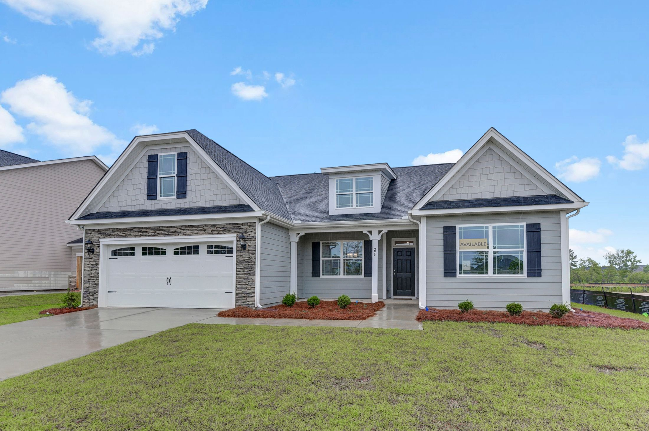 Exterior featured in the Caldwell By Eastwood Homes in Columbia, SC
