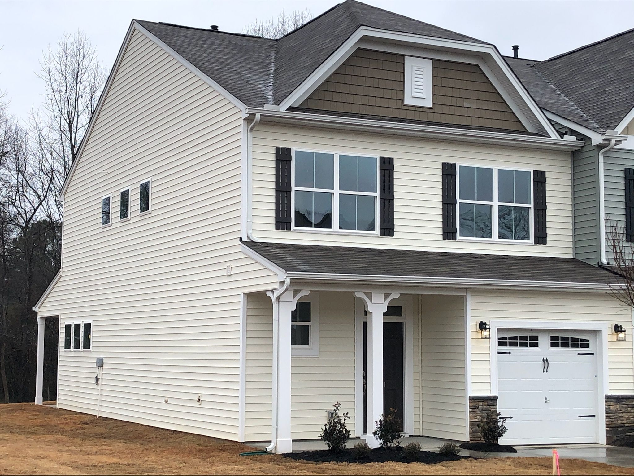 Exterior featured in the Norman By Eastwood Homes in Greenville-Spartanburg, SC