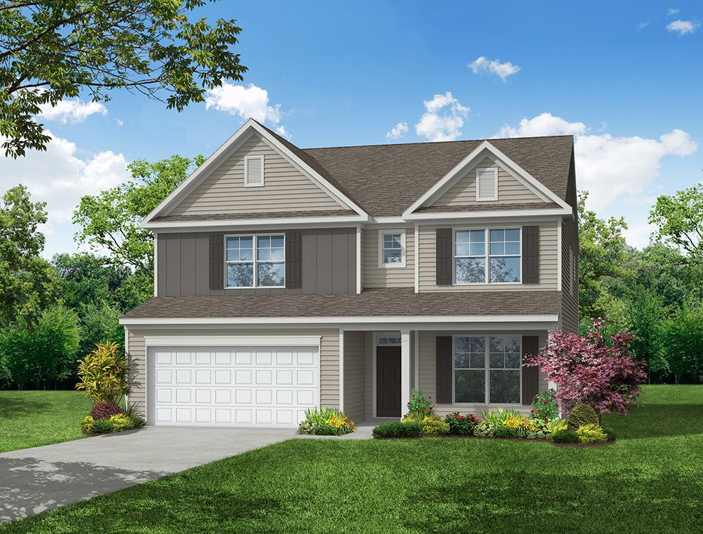 Exterior featured in the Davidson By Eastwood Homes in Atlanta, GA
