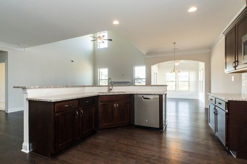 Kitchen-in-Raleigh II-at-The Preserve at Rockbridge-in-Knightdale