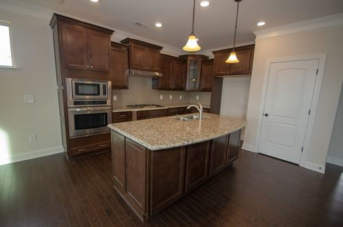 Kitchen-in-Raleigh II-at-Magnolia Glen Estates-in-Mebane