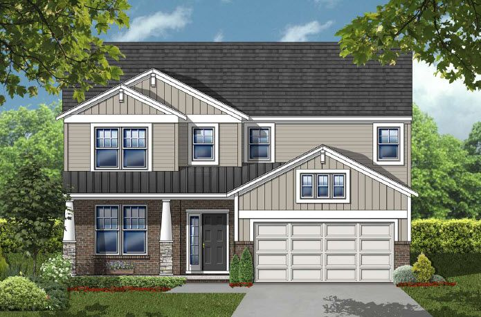 Exterior featured in the Yorkshire By Echelon Homes in Detroit, MI