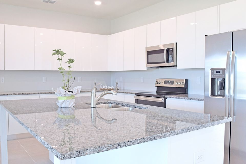 Kitchen featured in the Trentino By EcoSun Homes in Melbourne, FL