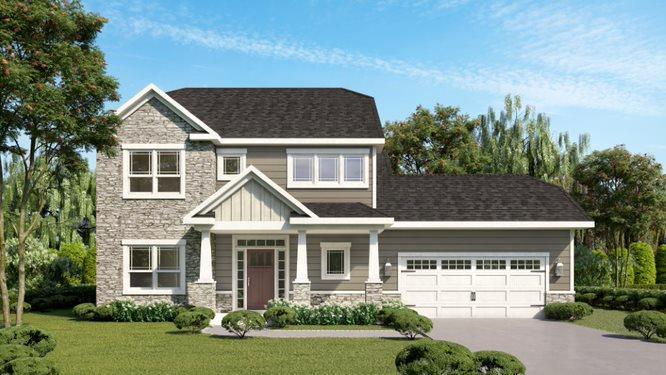 Exterior featured in the Ferris By Eddy Homes in Pittsburgh, PA