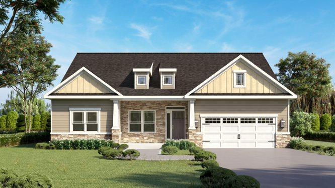 Exterior featured in the Victoria By Eddy Homes in Pittsburgh, PA