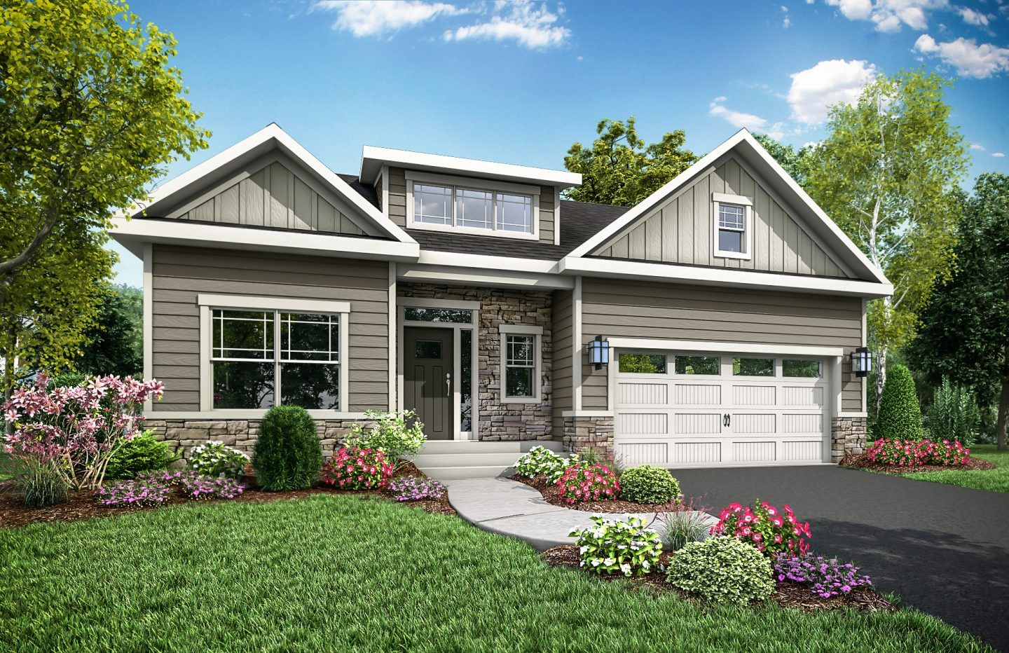 Exterior featured in the Gilfillan By Eddy Homes in Pittsburgh, PA