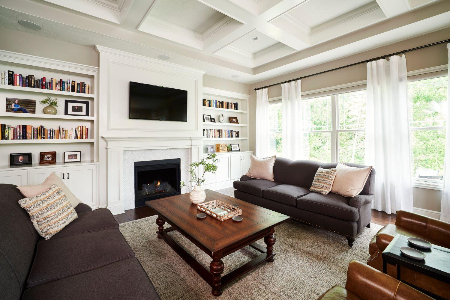 Living Area featured in the Victoria By Eddy Homes in Pittsburgh, PA