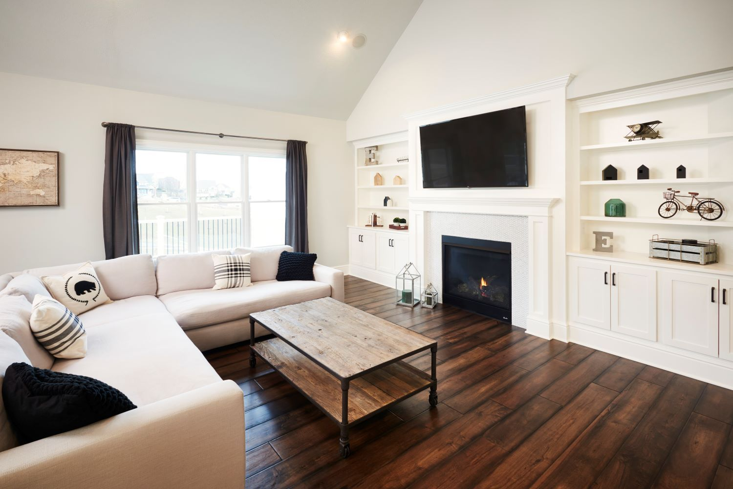 Living Area featured in the Petersburg By Eddy Homes in Pittsburgh, PA