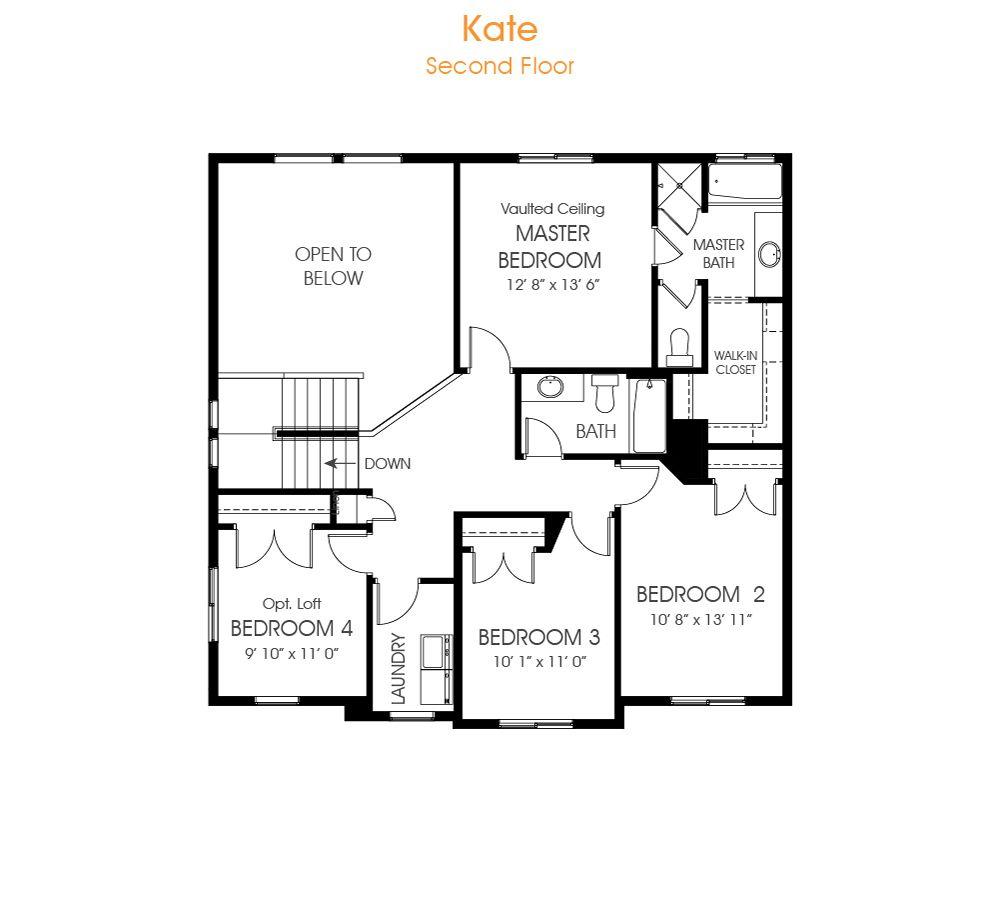 Kate Two Story Plan Saratoga Springs Utah 84045 Circuit Diagram Of 8 To 3 Encoder At The Ridge By Edgehomes