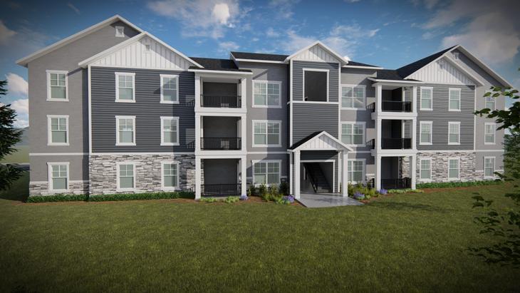 Condominium Third Level:Aaron Elevation