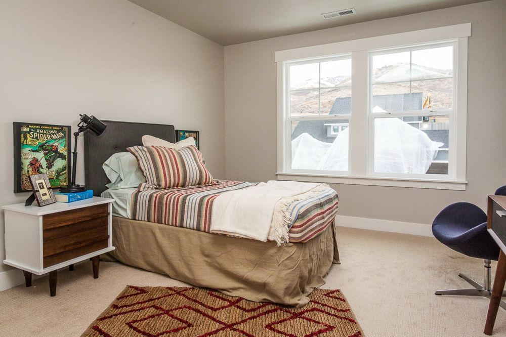 Bedroom featured in the Vincent - Two Story By EDGEhomes in Provo-Orem, UT