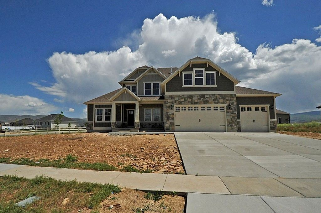 Exterior featured in the Quincy - Two Story By EDGEhomes in Salt Lake City-Ogden, UT