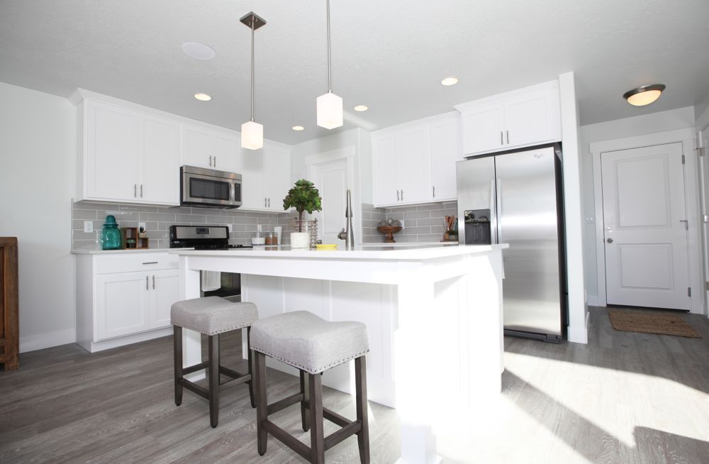 Kitchen featured in the Nathan - Two Story By EDGEhomes in Provo-Orem, UT