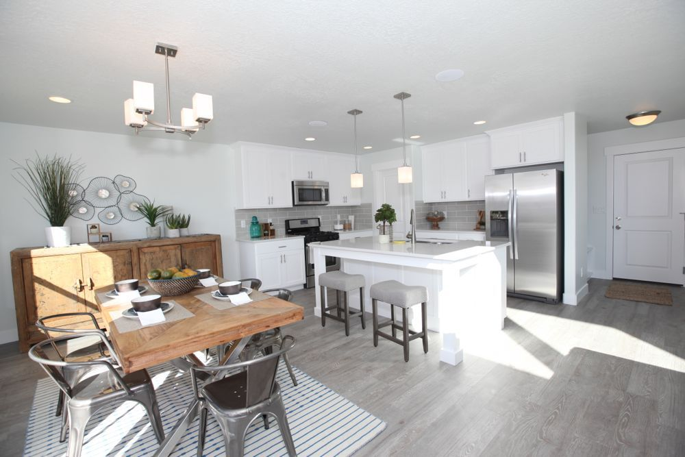 Kitchen featured in the Nathan - Two Story By EDGEhomes in Salt Lake City-Ogden, UT