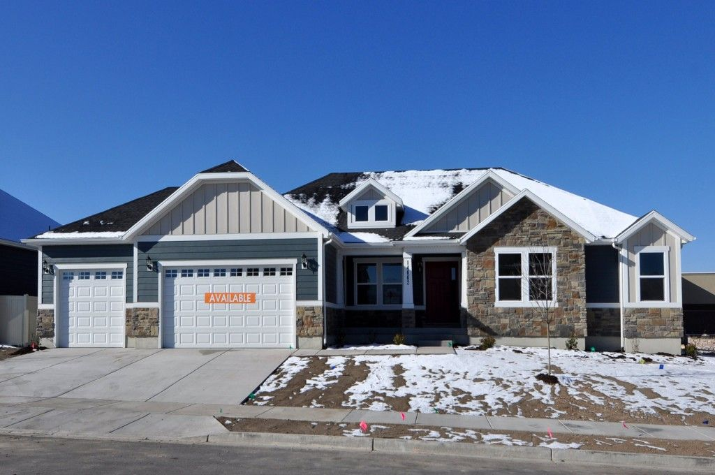 Exterior featured in the Katrina - Rambler By EDGEhomes in Salt Lake City-Ogden, UT